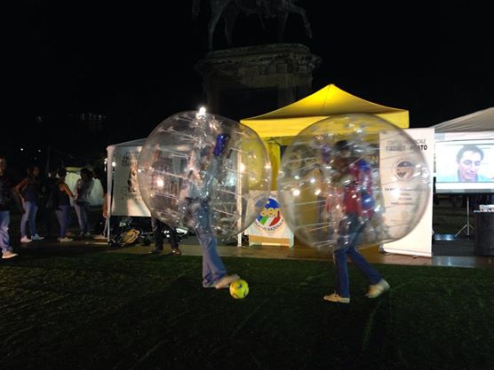 bubble soccer firenze
