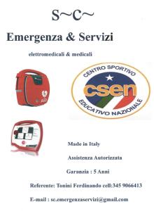 convenzione defibrillatore