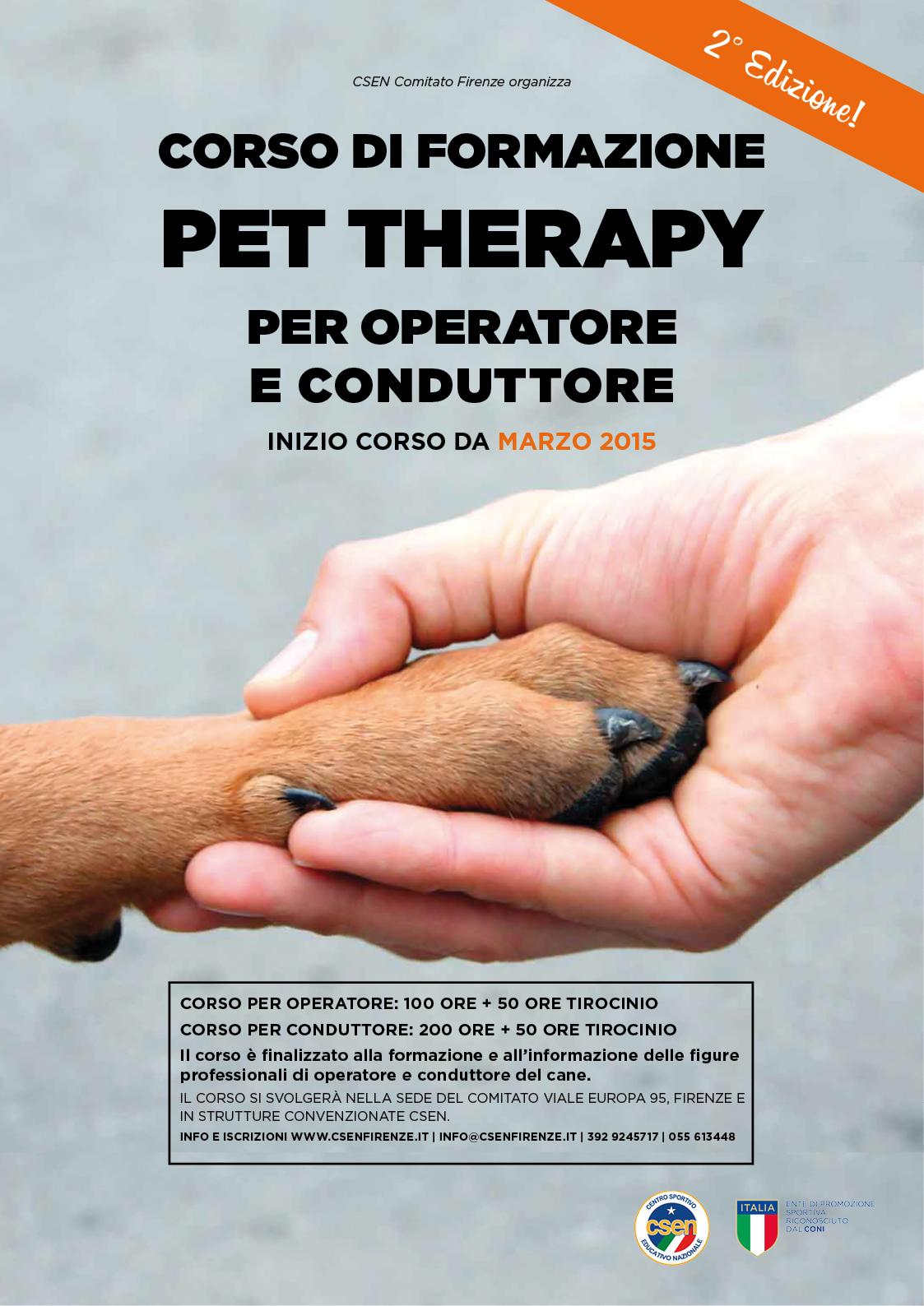 pet therapy csen