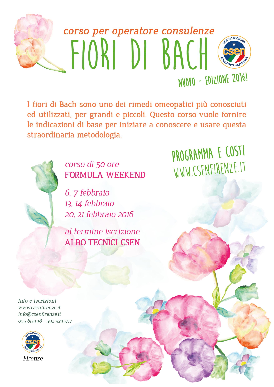 Fiori Di Bach 02.Corso Fiori Di Bach Febbraio 2016 Csenfirenze