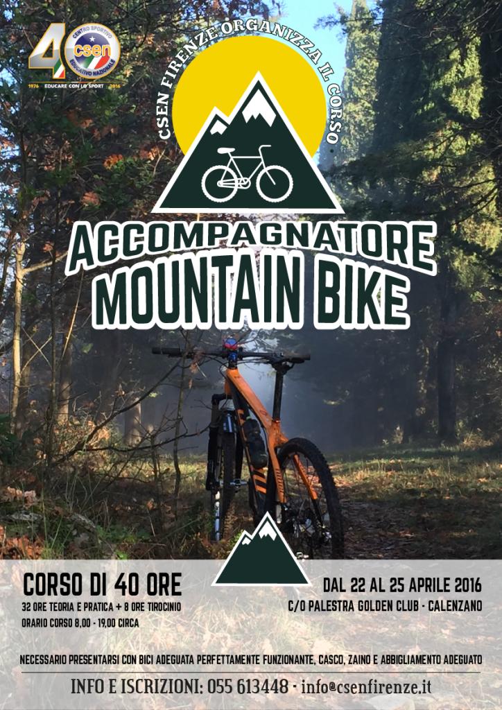 corso accompagnatore Mountain-bike