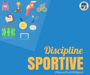 grafica delle discipline sportive di csen firenze